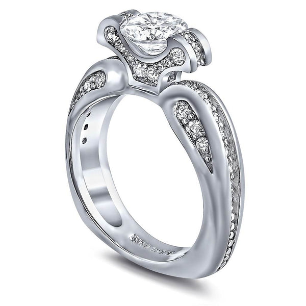 Lily Diamond Engagement Ring
