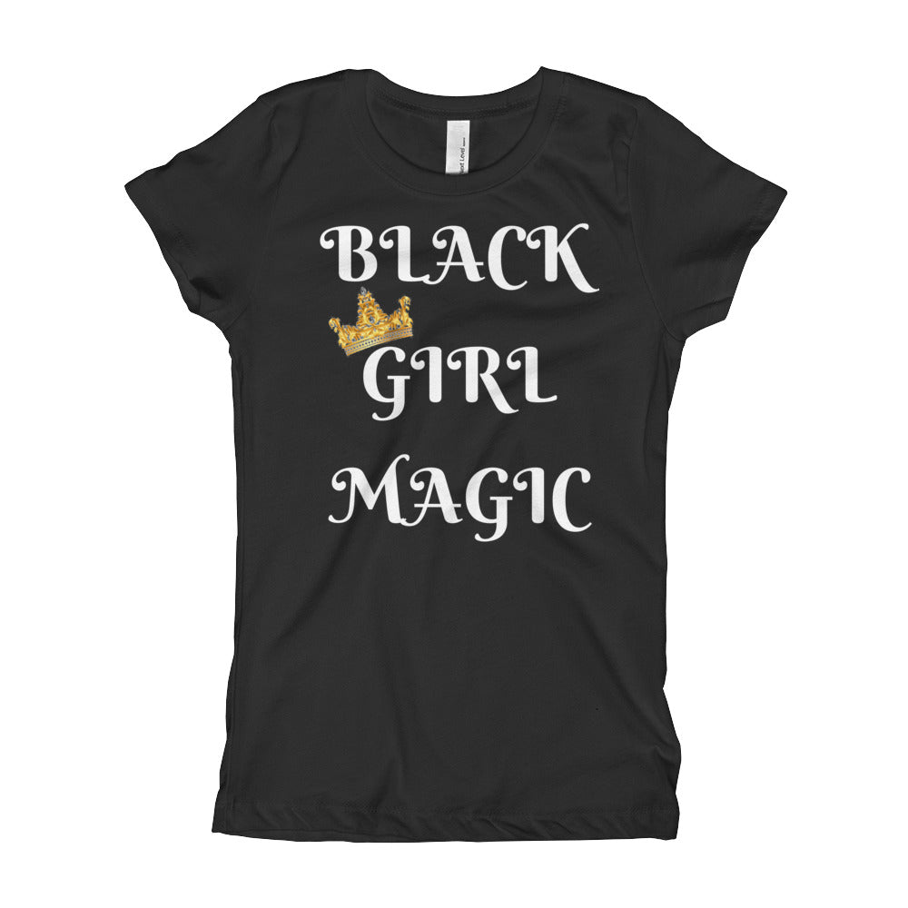 Girl's BLACK GIRL MAGIC T-Shirt