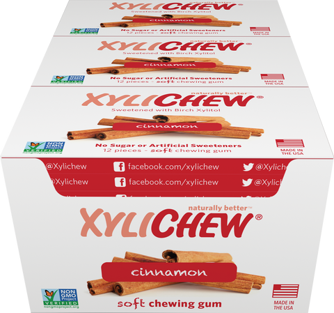 Xylichew - Cinnamon 24 Pack Case