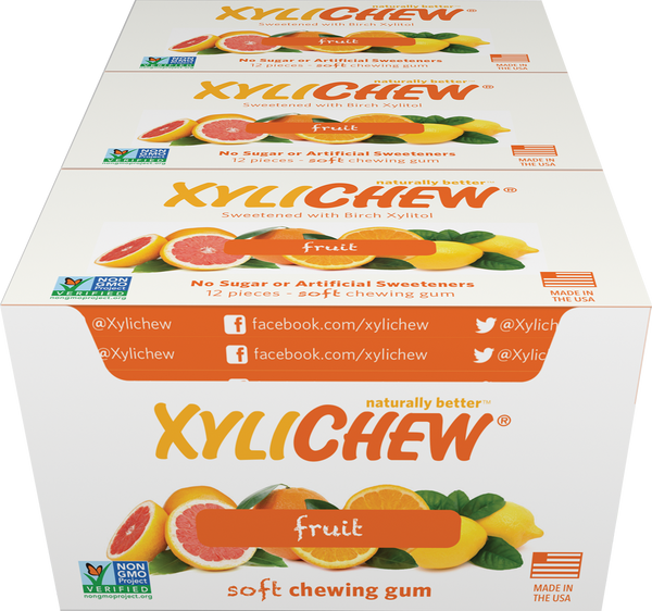 Xylichew - Fruit 24 Pack Case