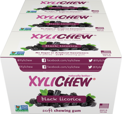 Xylichew - Black Licorice 24 Pack Case