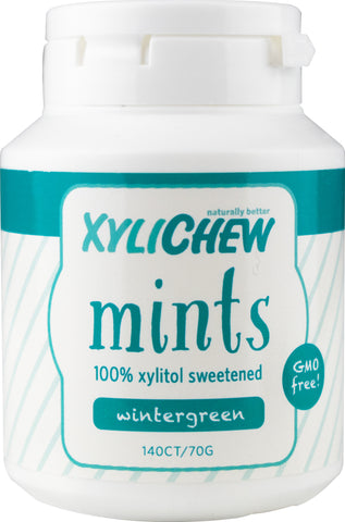 Xylichew - Wintergreen Mint Jar - 140 Pieces