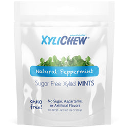 Xylichew - Peppermint Xylitol Mints - 100 Pieces