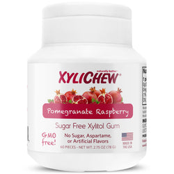 Xylichew Gum - Pomegranate Raspberry - 60 Pieces