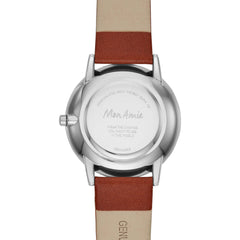 Mon Amie Iconic Education Clay Leather Watch and Bracelet Set