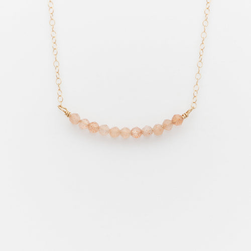 Fa14 Sandstone Gold Necklace