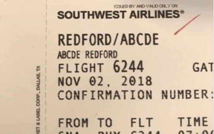 Abcde and Southwest Airlines