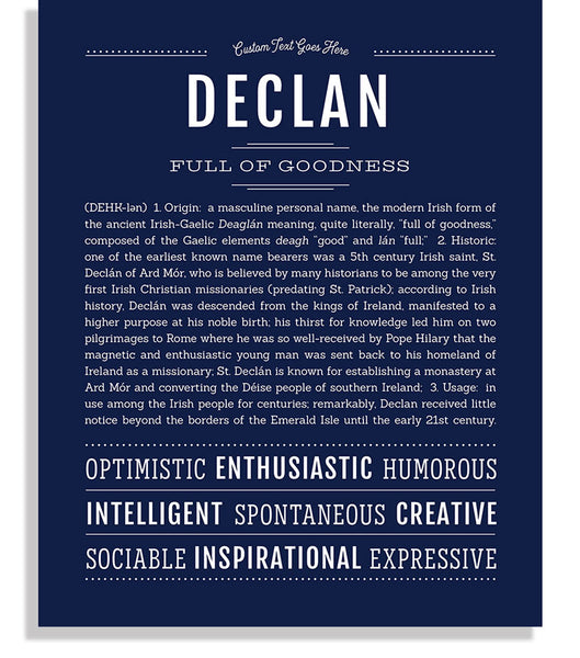 25+ Declan meaning in text ideas in 2021