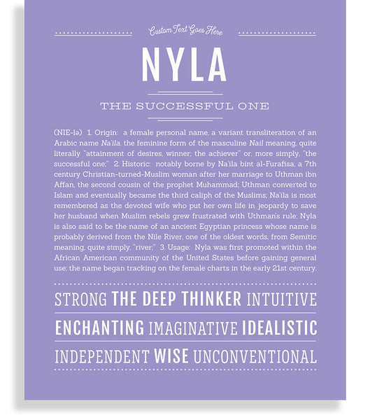 49++ Meaning behind name nyla ideas in 2021