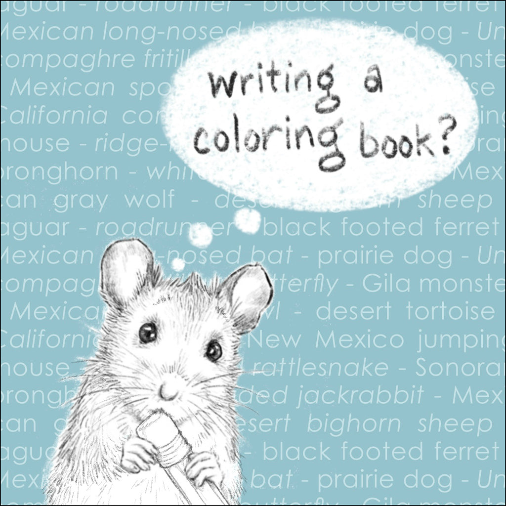 """How Do You WRITE A Coloring Book?"""