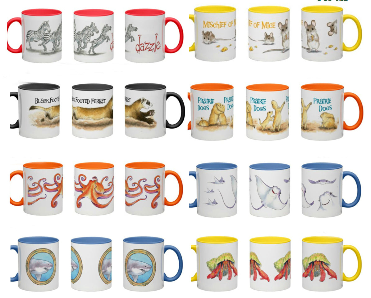 Animal Mugs - Gifts Made in the USA!