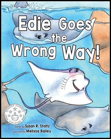 Edie Goes The Wrong Way - Hardback