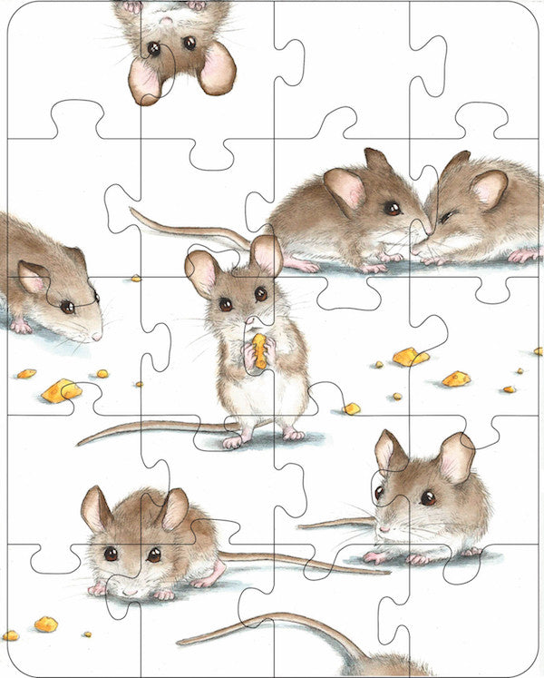 Mice Rectangle Puzzle