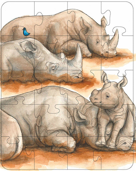 Rhinoceros Rectangle Puzzle