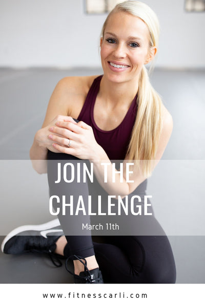 Fitness Carli March Challenge!