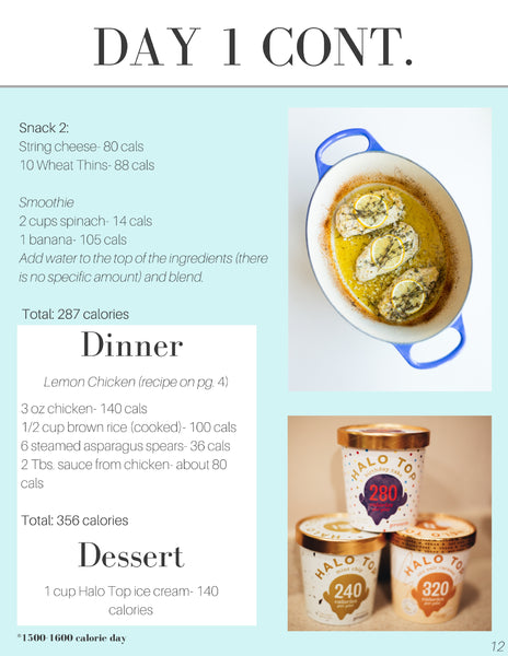 Digital 28-Day Meal Plan