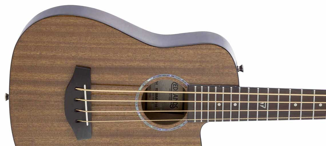 Load image into Gallery viewer, Redlands Mini Bass (Mahogany)