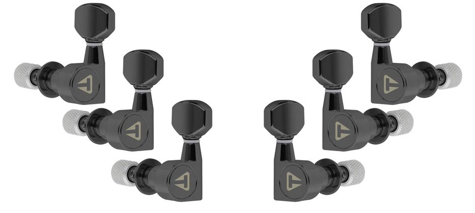 Traveler Guitar Locking Tuners (Black)