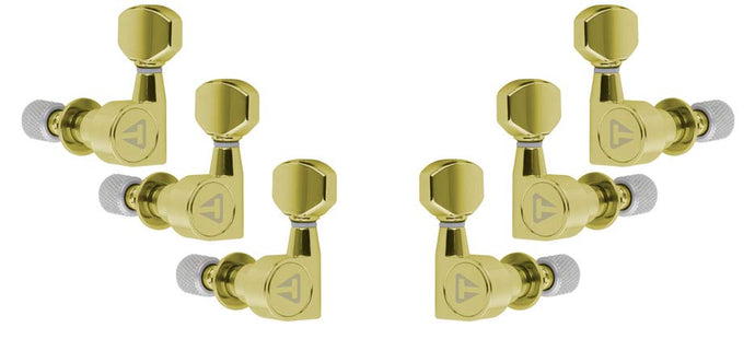 Traveler Guitar Locking Tuners (Gold)