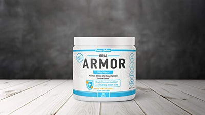 Oral Armor: The All-in-One Solution to Boost Your Immune System • Strengthen Your Oral Tissue • Reduce Stress • Multivitamin Magnesium L-Lysine B-Complex SuperFoods • 30 Day Supply • Made in The USA