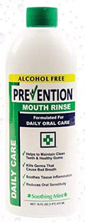 Prevention Daily Care - Alcohol Free Mouth Rinse | Value 4 Pack (4 for The Price of 3), The Original Alcohol Free Mouthwash