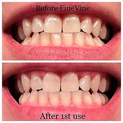FineVine Charcoal Teeth Whitening Toothpaste - Vegan - Made in USA