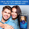 AUSLKA Teeth Whitening Strips Pack Of 28 Strips, Whitener Sensitive Teeth, 3D Whitening Kit, Professional Efficient Teeth Whitestrips