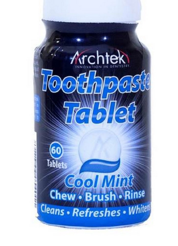 Archtek Toothpaste Tablets Cool Mint 60 ct (Pack of 3)