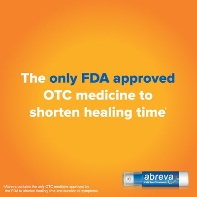 Abreva® Docosanol - The Only FDA Approved Treatment for Cold Sore/Fever Blister