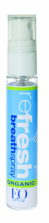 EO Refresh Certified Organic Breath Spray, 0.33 Ounce (Pack of 12)