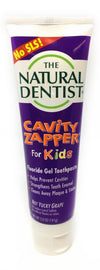 Prevent Cavities With Natural Dentist Kids Toothpaste SLS Free Cavity Zapper 5 Oz Fluoride Gel helps Strengthen teeth and fight cavities ( Pack of 2)