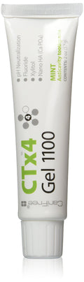 CariFree CTx4 Gel 1100, Dentist Recommended, Anti-Cavity (Mint)