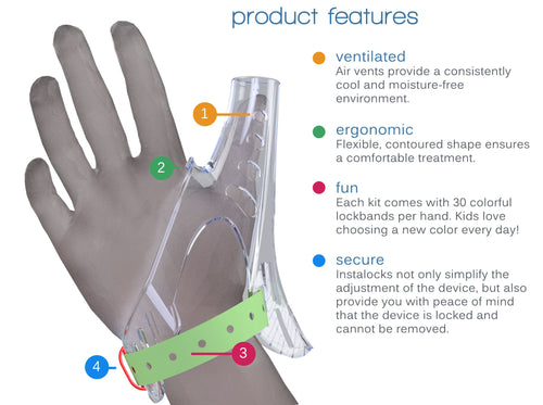 TGuard AeroThumb, Treatment Kit to Stop Thumbsucking (Small (Ages 0-4))