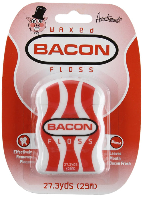 Archie McPhee Waxed Bacon Flavored Floss