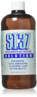 S.t.37 Mouth Pain Relief Solution - 16 Oz