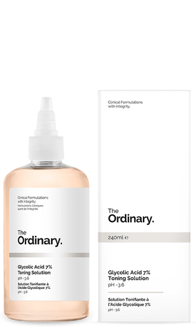 The Ordinary Glycolic Acid 7% Toning Solution 240ml **pre-order**