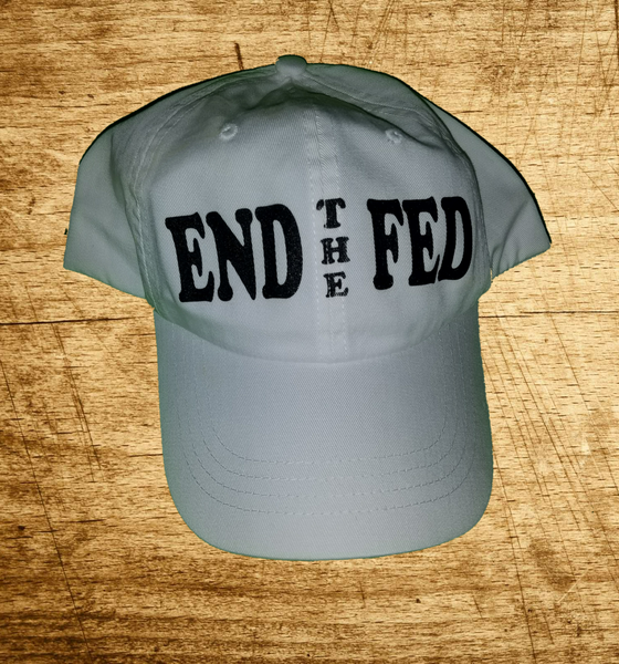 End The Fed cap white