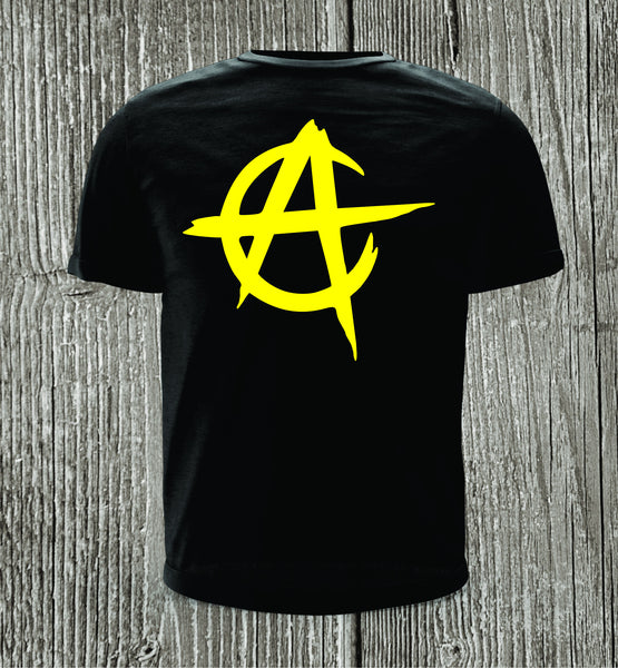Anarcho Capitalism Short Sleeve Black T-shirt