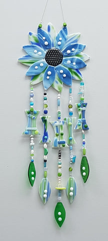 Fused Glass Wind Chime