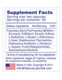 ForitfBio™ Probiotics for Seniors, 50 billion CFU, 14 US/Euro Grown Strains, Veggie AP Capsules