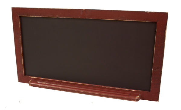 Horizontal Chalkboard with Tray Country Rustic Decor