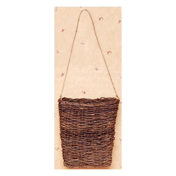 "Hanging 7""  Vine Basket with Jute Hanger"