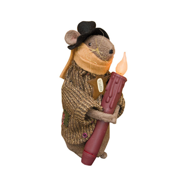Candle Kindle Mouse Doll