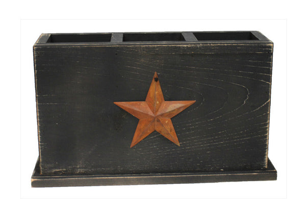 Country Rustic Table Center Piece with Rusty Star