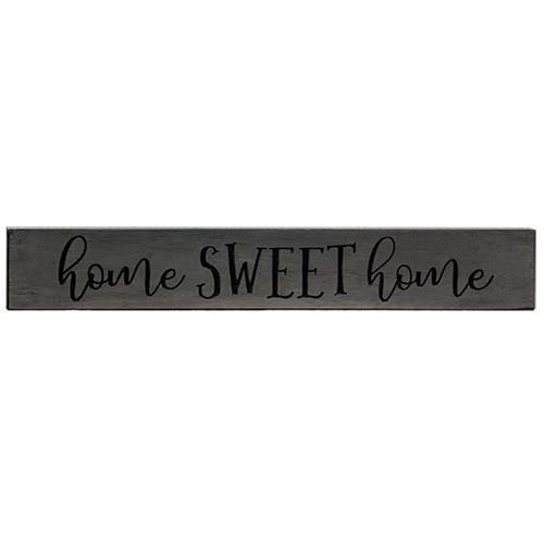 Engraved Home Sweet Home Sign