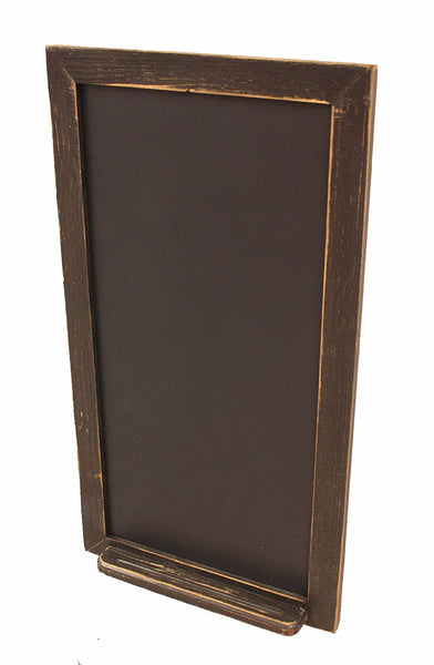Black Vertical Chalk Board