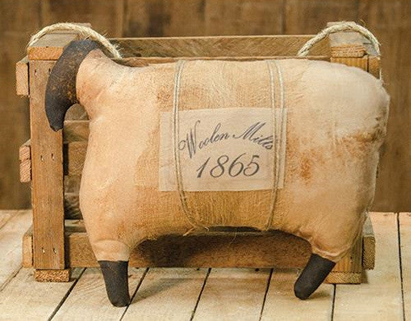 Primitive 1865 Woolen Mills Stuffed Sheep