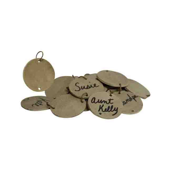 Birthday Calendar Sign Wooden Replacement Tags