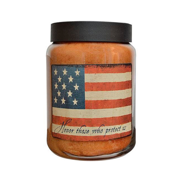 Honor Flag Jar Candle, 26oz