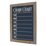 Vertical Chalkboard Chore Chart Country Rustic Decor